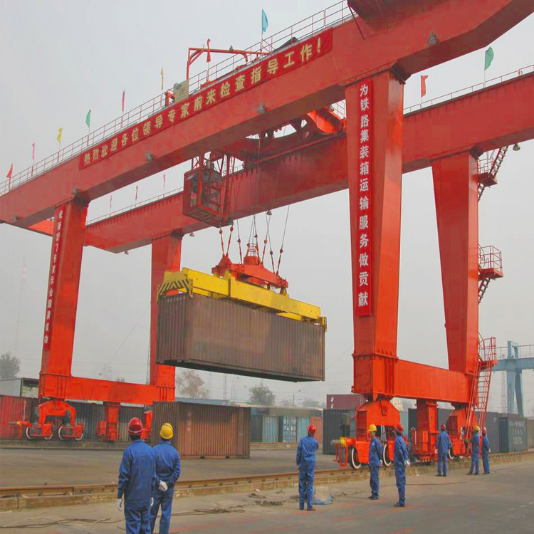 Rail Mounted Gantry Cranes